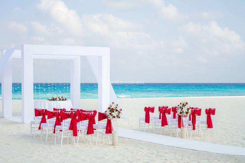 Gazebo Playa Miramar