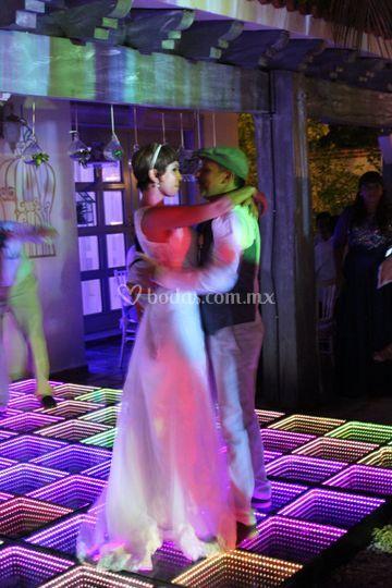 Baile recien casados