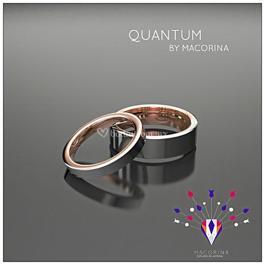 Argollas Colección Quantum