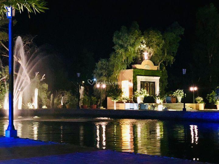 Lago noche