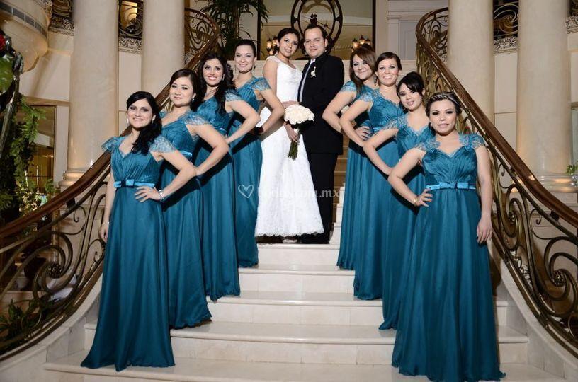 Damas para boda