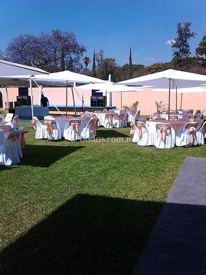 Metztli eventos sociales for Jardin villa xavier
