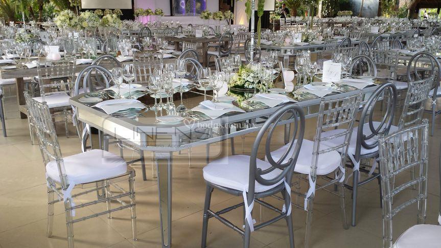 Dilafe corporativo for Espejos para mesa
