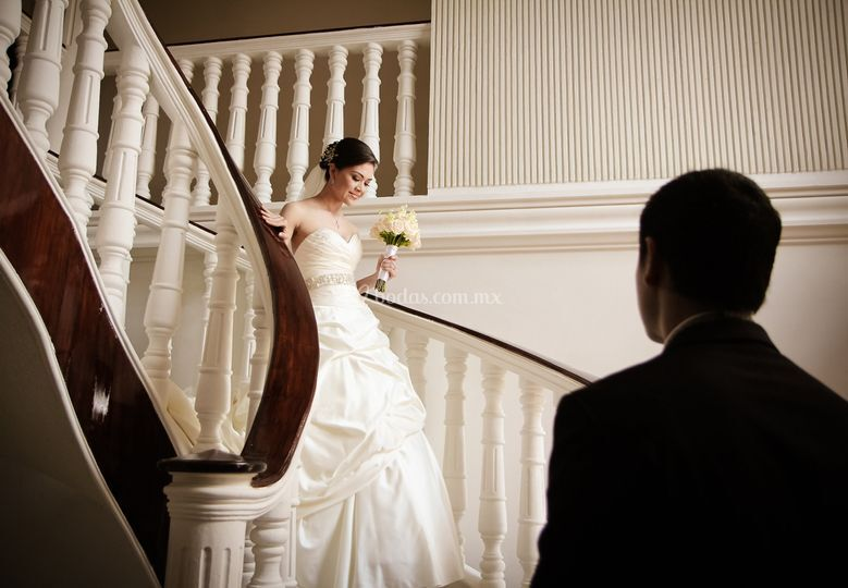 Salida de casa de la novia