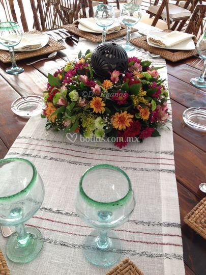 El barro negro en la mesa