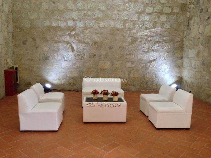 Decoración de salas lounge