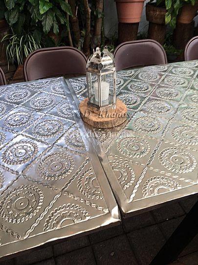 Artesanía en la mesa
