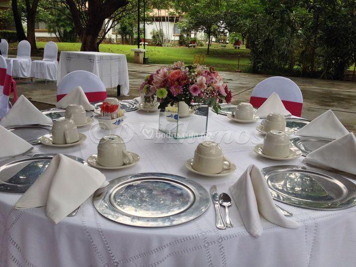 Desayuno, bodas de oro