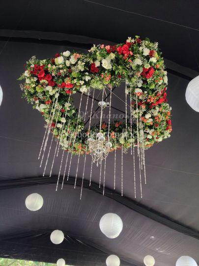 Candelabro floral