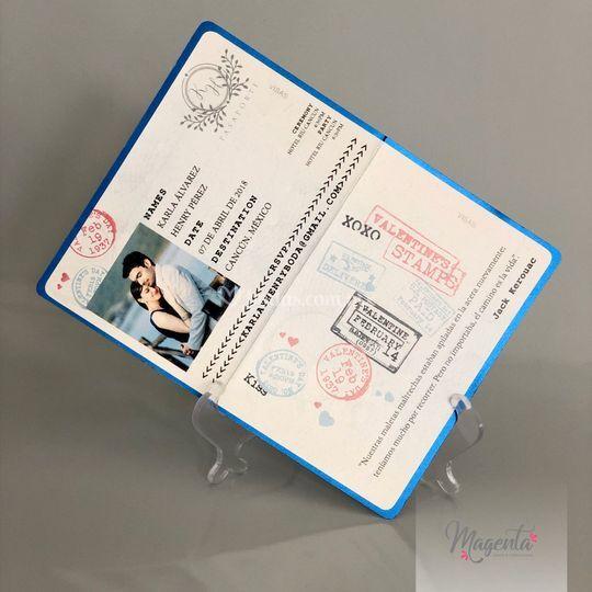 Invitación - Pasaporte