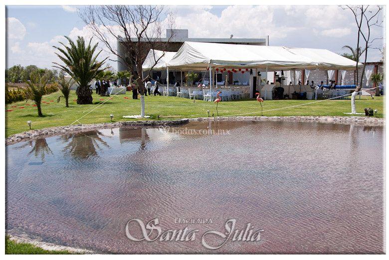 Jardín para bodas en Querétaro