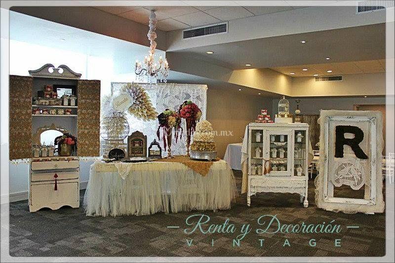 Renta y decoraci n vintage for Articulos decoracion salon