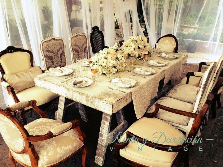 Boda civil y sillas vintage de renta y decoraci n vintage foto 9 - Proveedores decoracion ...