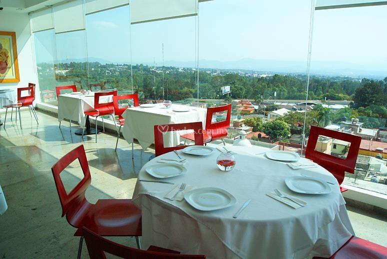 Restaurante panorámico
