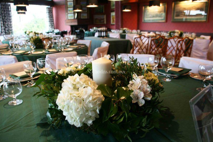 Decoraci n eventos - Decoracion con hortensias ...