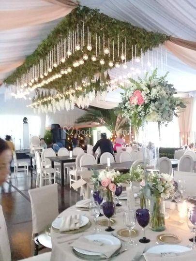 decoración boda naturaleza