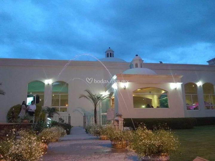 salón La hacienda San Pedro At