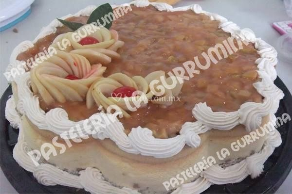 Pastel de queso con guayaba