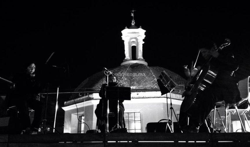 Cuarteto en concierto