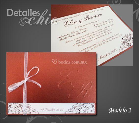 Invitacion de boda Mod.2