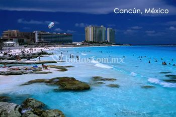 Playa en Cancún