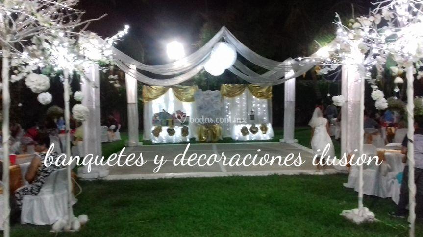 Banquetes y Decoraciones Ilusión