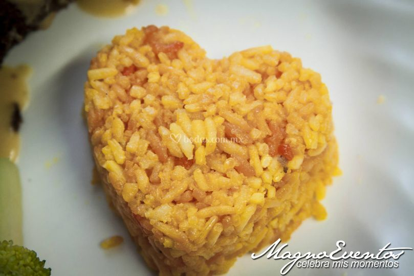 Montaje de arroz ❤️