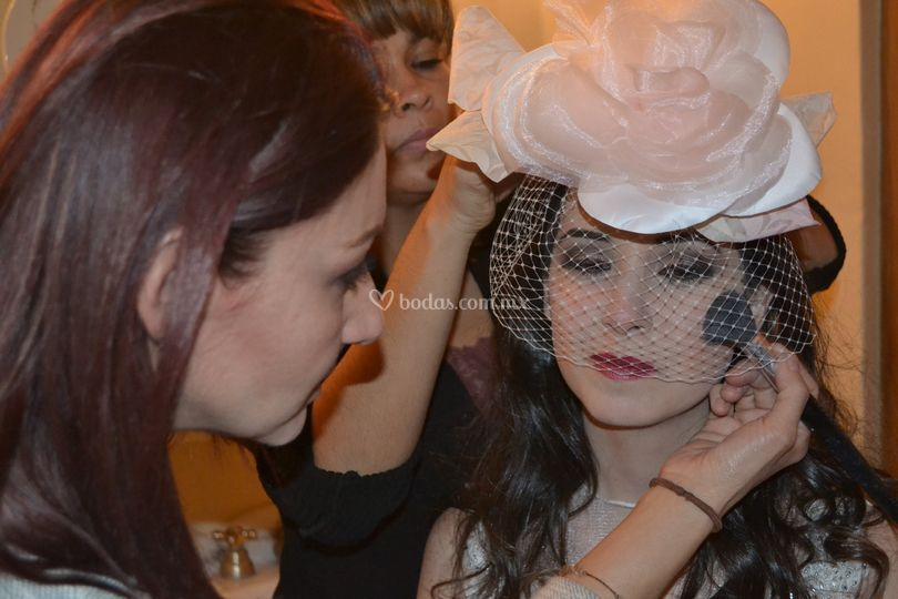 Maquillista Erika Almanza