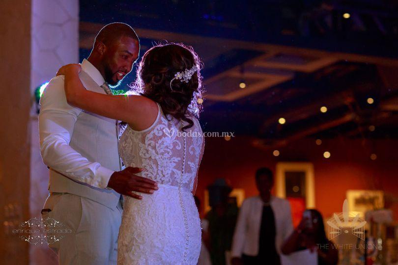 Primer baile de recien casados