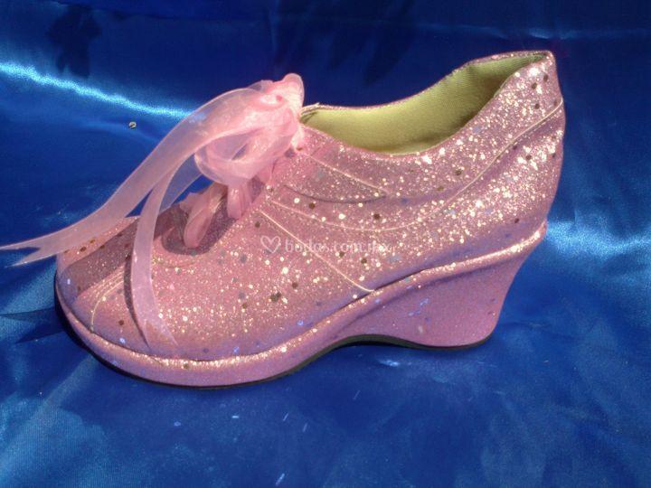 Calzado en rosa