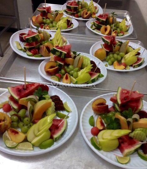 Gastronomía para su evento