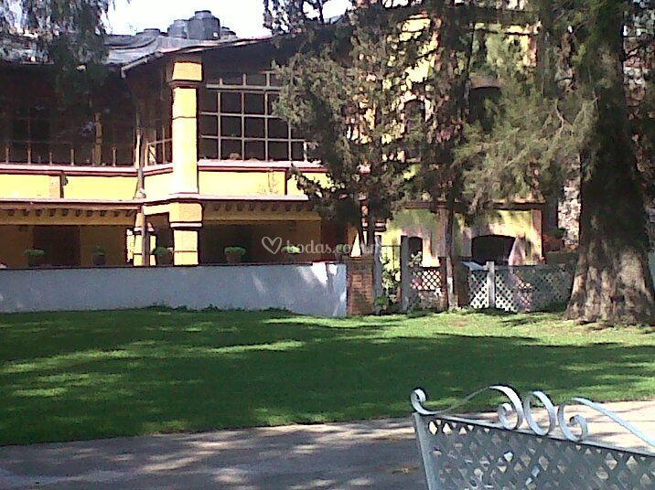Frente de hacienda