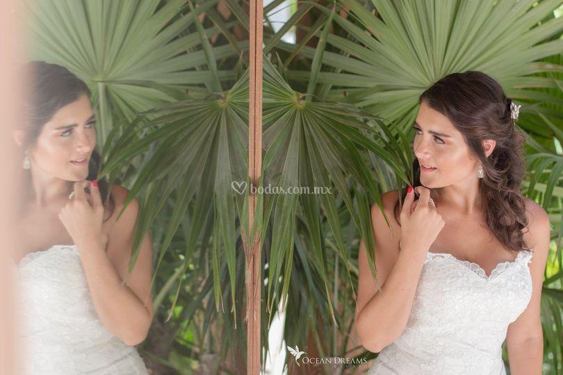 Mayakoba bridal