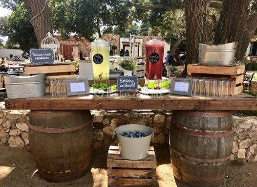 Barricas de bebidas