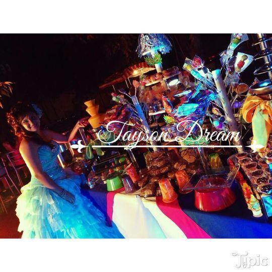 Candy bar al estilo Tayson Dream
