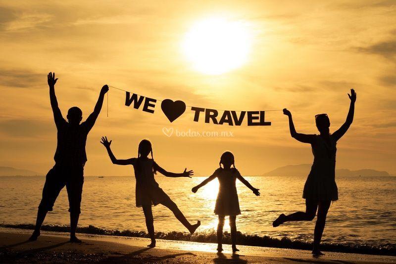Ama viajar