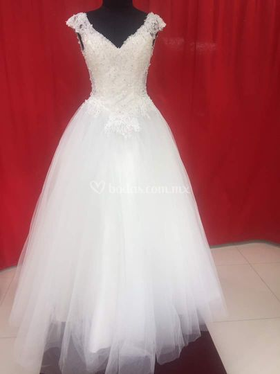 Vestido de novia único