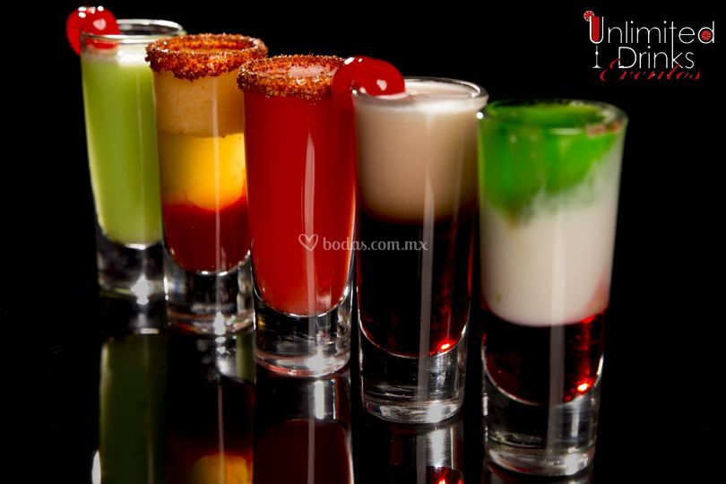 Shots de sabores