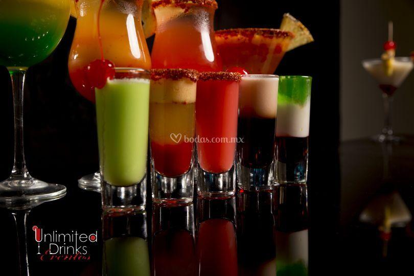 Deliciosos shots