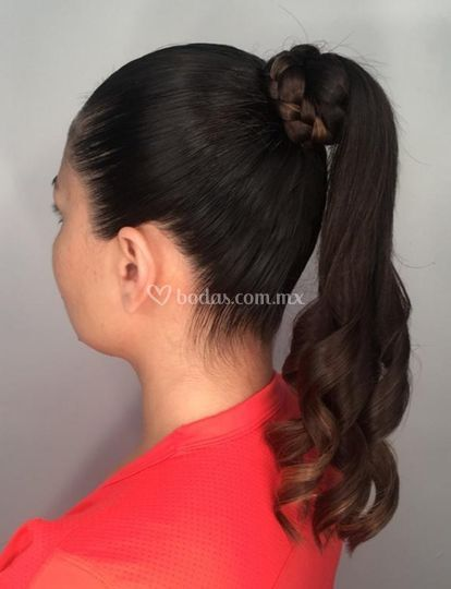 Peinado sencillo