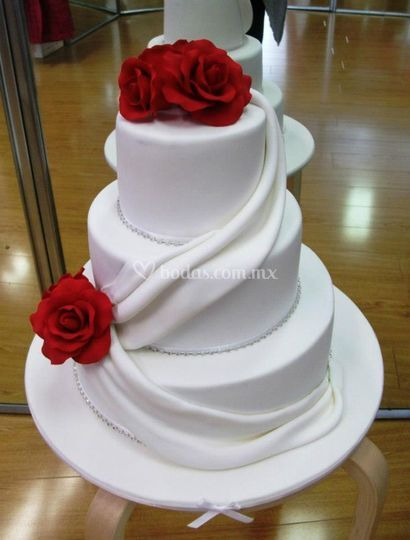 Pastel boda