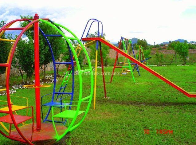 Juegos Infantiles De Jardin Santiago Tepetlaoxtoc Foto 5