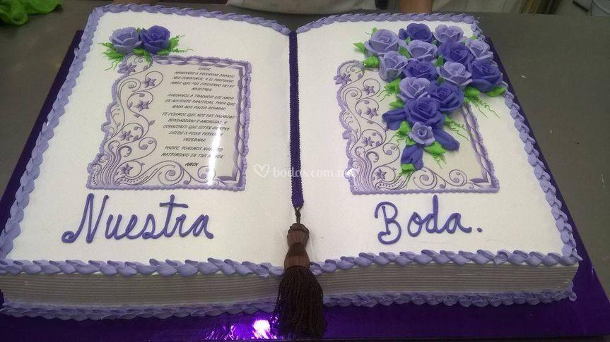 Pastel libro