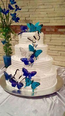 Pastel mariposas