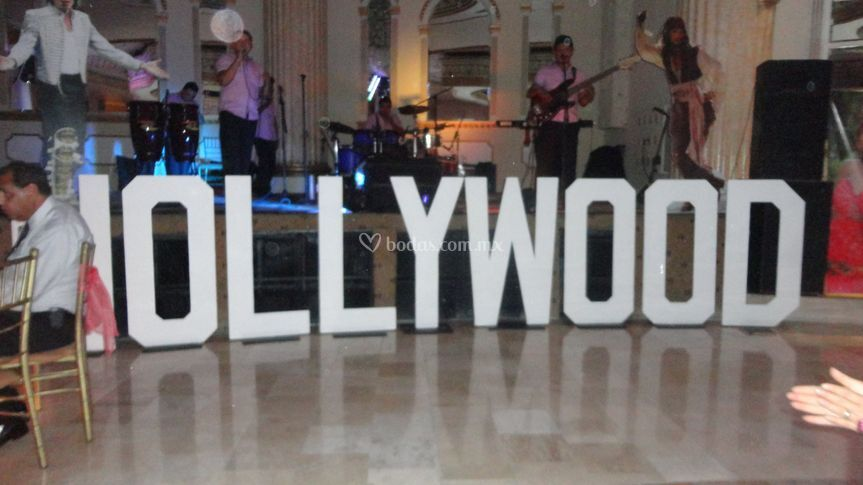 Fiesta temática Holliwood
