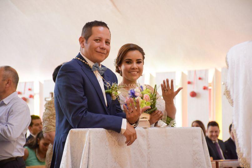 Oficialmente marido y mujer