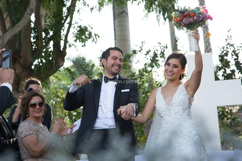 ¡Marido y mujer!
