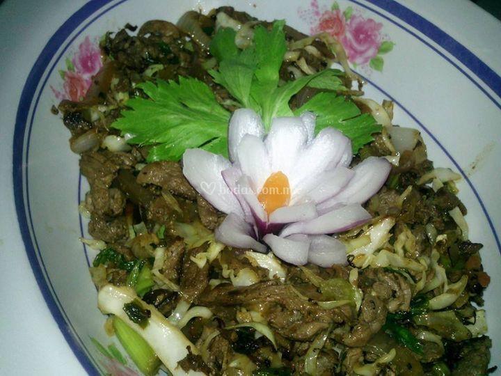 Comida tailandes