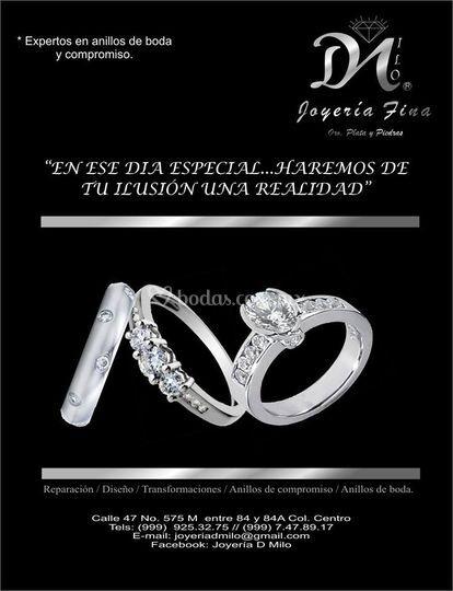 Expertos en anillos de boda