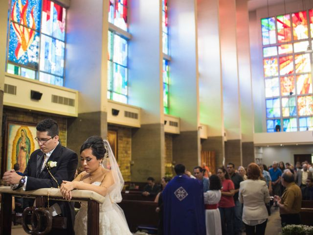 La boda de Rebeca y Alan